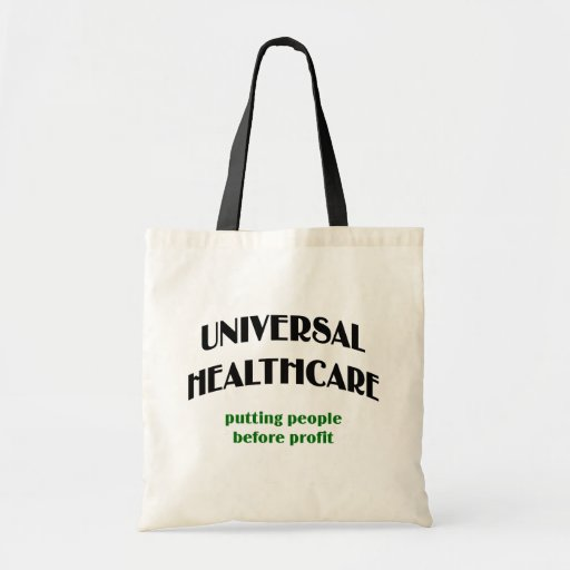 Universal Health Care Tote Bags