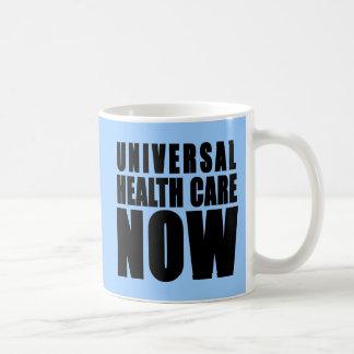 Universal Health Care Now Products Basic White Mug