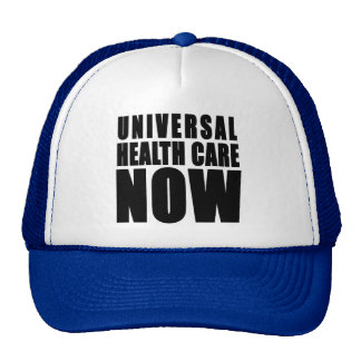Universal Health Care Now Products Mesh Hat