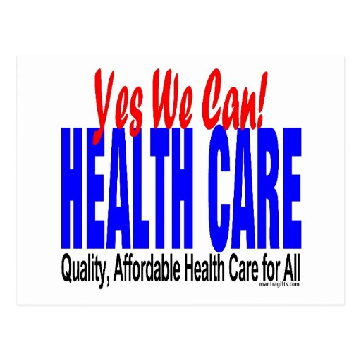 Universal Health Care Post Cards