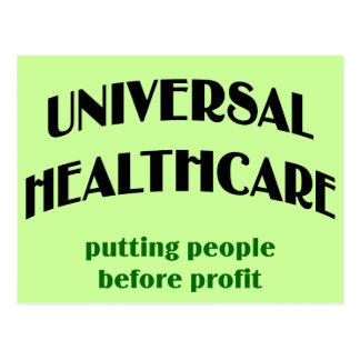 Universal Health Care Postcard