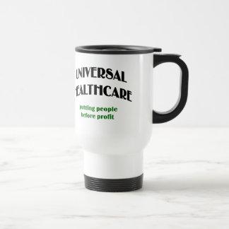Universal Health Care Stainless Steel Travel Mug