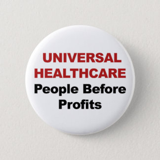 Universal HealthCare 6 Cm Round Badge