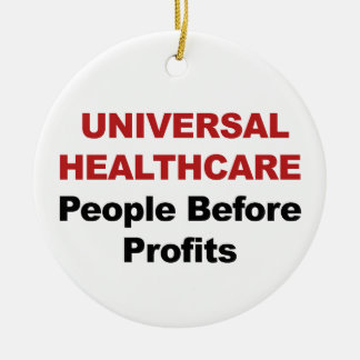 Universal HealthCare Ceramic Ornament