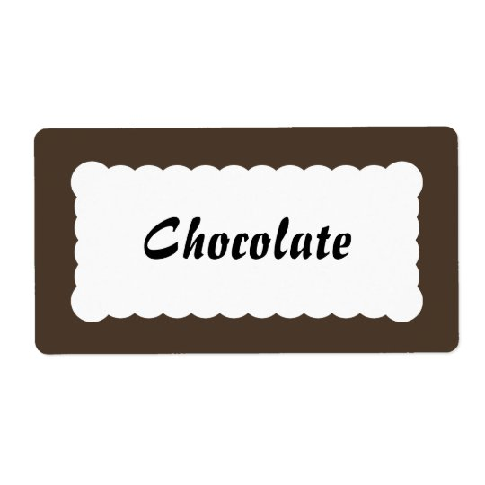 Universal Label Chocolate Brown