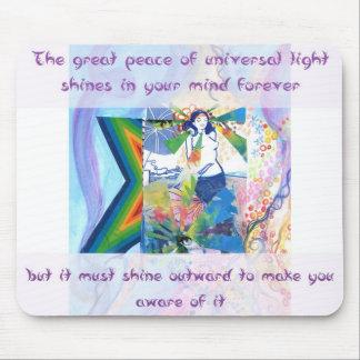 Universal Light Mousepad, Rebecca Tedder