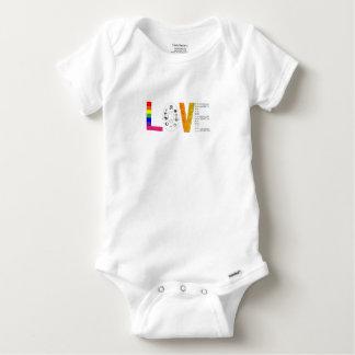 Universal Love Baby Onesie