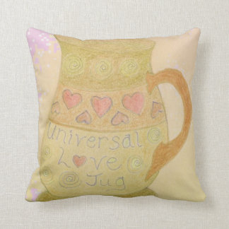 Universal Love Jug Cushion pink