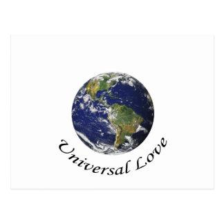Universal Love on earth Post Card