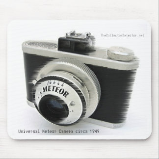 Universal Meteor Vintage Camera Mousepad