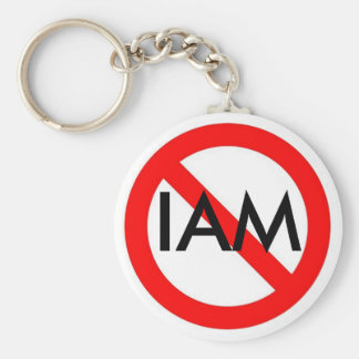 Universal NO IAM Keychain