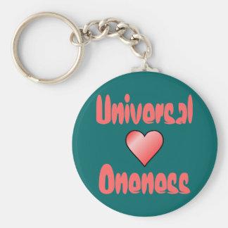 Universal Oneness keychain