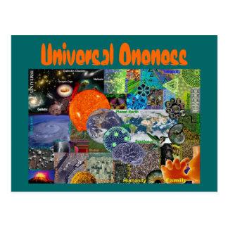 Universal Oneness postcard