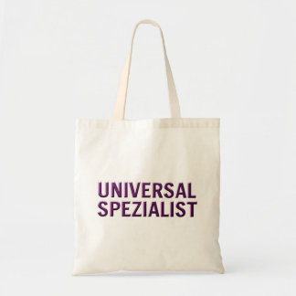 Universal specialist tote bags