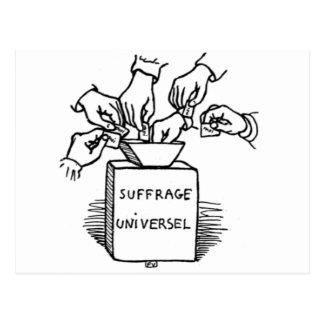 Universal suffrage by Felix Vallotton Postcard