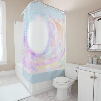 Universal Swirl Art Shower Curtain