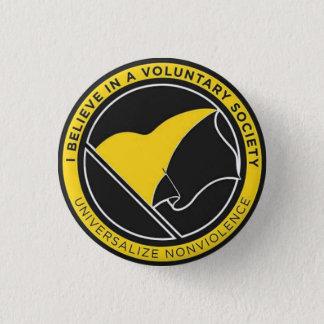 Universalize non-violence badge