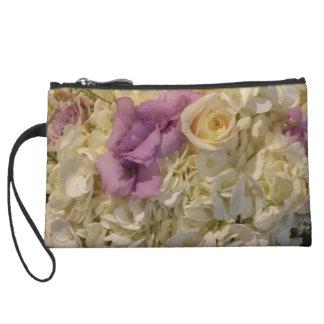 Universally We Love Wedding clutch change purse. Wristlet Purse