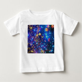 Universe and planets celebrate life with a tost.pn baby T-Shirt