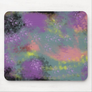 Universe background mouse pad
