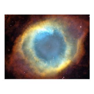 Universe cosmos stars space postcard