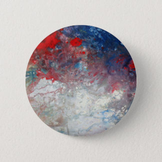 Universe - Galaxy - Cosmos - Milky Way 6 Cm Round Badge
