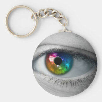 universe in our eyes key chain