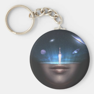 Universe in the Mind Key Ring