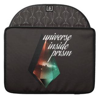Universe inside prism sleeve for MacBooks