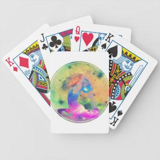 Universe King Pigeon Yoga Series Bicycle Playing Cards