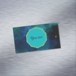 Universe Magnetic Business Card
