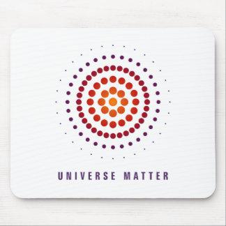 Universe matter mouse pad