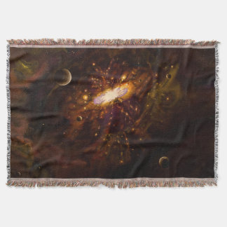 Universe, Milky Way Throw Blanket