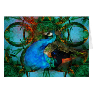 Universe of the Peacock horizontal card