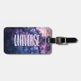 Universe photo Milky Way in Night sky Luggage Tag