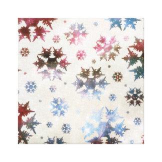 Universe Snow Canvas Prints