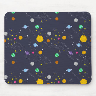 Universe, space, fantasy mouse pad