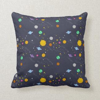Universe, space, fantasy throw pillow