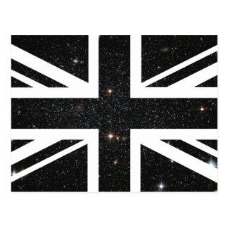 Universe Union Jack British(UK) Flag Postcard
