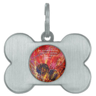 Universe works for you pet ID tag