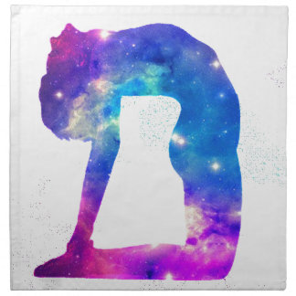 Universe Yoga Goddess Series Napkin