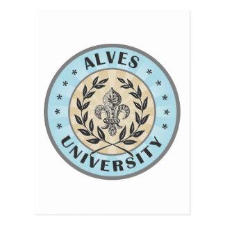 University Alves Light Blue Post Card