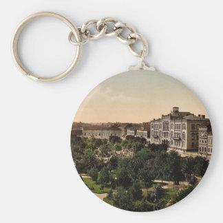 University, Belgrade, Servia classic Photochrom Keychains