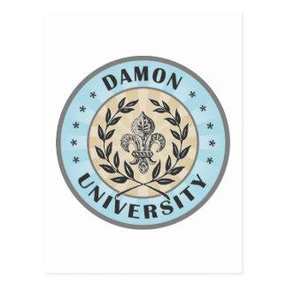 University Damon Light Blue Postcards