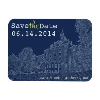 University Dorm Save the Date Magnet