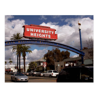 University Heights, San Diego Postcard