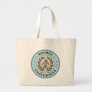 University Holmes Light Blue Tote Bags