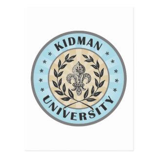 University Kidman Light Blue Postcard