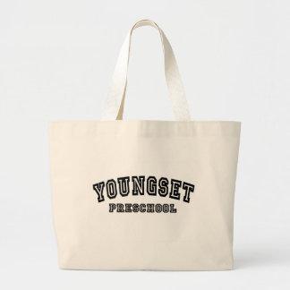 University logo tote bag
