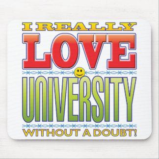 University Love Face Mouse Mats